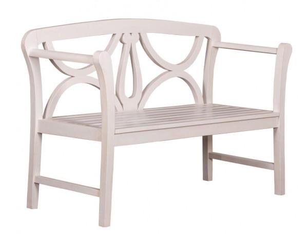 deVries Woodie Bank 130 Harfe 2 white