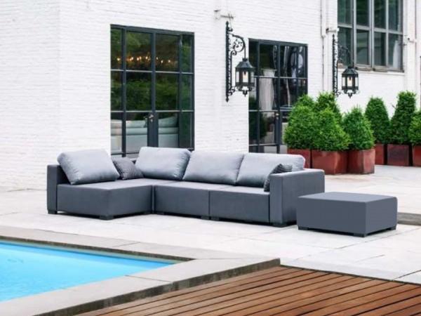 Lounge Pico für den Garten 16-teilig Silvertex Livingruhm