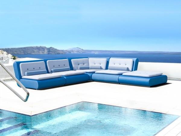 Lounge Kila für den Garten 25-teilig Silvertex Baltic Livingruhm