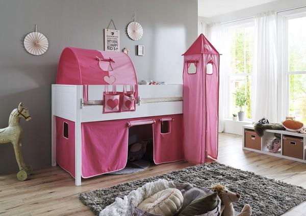 Relita Turm-Set klein pink-Herz