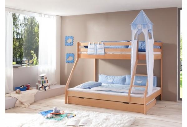 Relita Turm-Set groß blau Boy