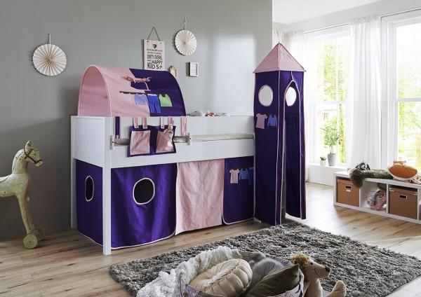 Relita Turm-Set klein rosa/violett Kleider