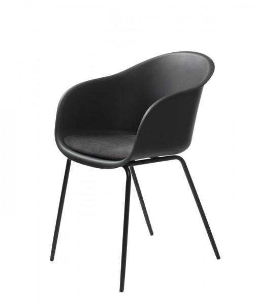 Stuhl Topley Armchair von Livingruhm in schwarz