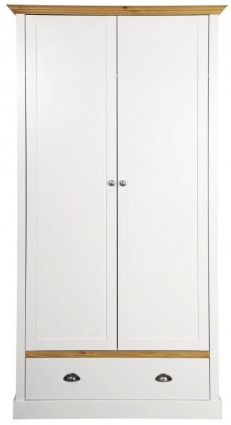 Steens Kleiderschrank Sandringham 104 weiß