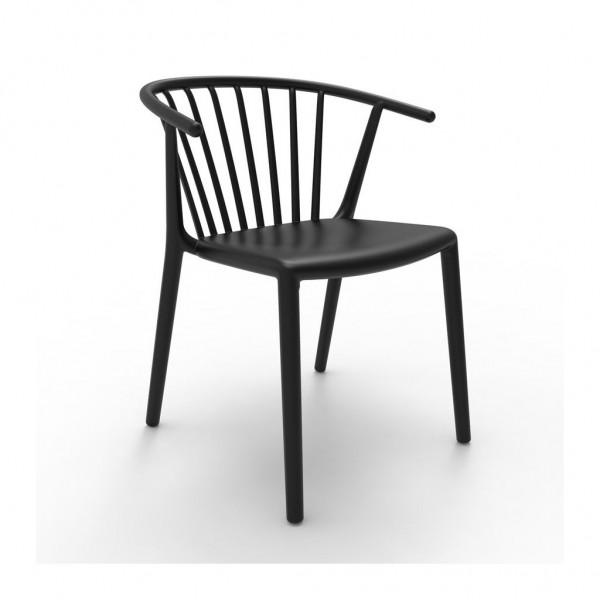 Resol Stuhl Woody schwarz