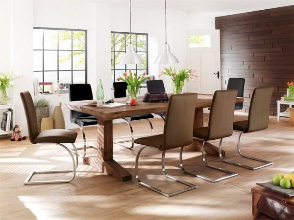 MCA furniture Lunch Esstisch Eiche massiv 180x90