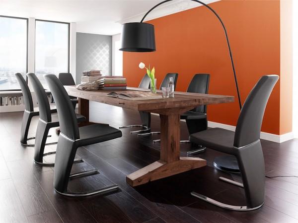 MCA furniture Lunch Esstisch Eiche massiv 260x100