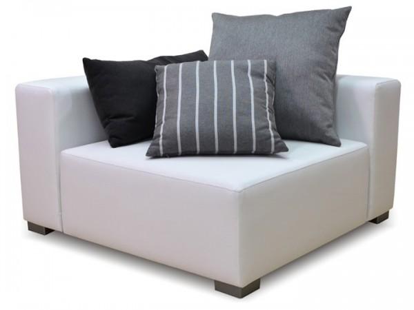 Loungegruppe-Modul Kubik Ecke Silvertex Livingruhm