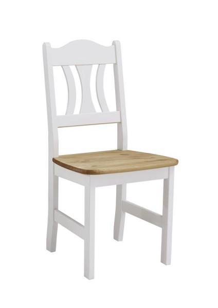 Stuhl Kristel Küchenstuhl Kiefer massiv 2er Set