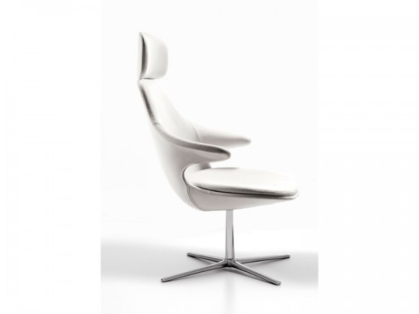 Infiniti Loop Lounge Sessel drehbar hoch