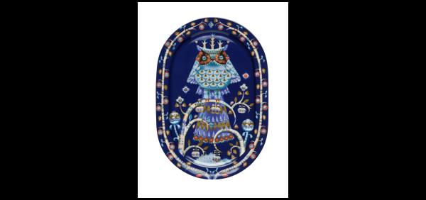 iittala Servierteller Taika blau 41 cm