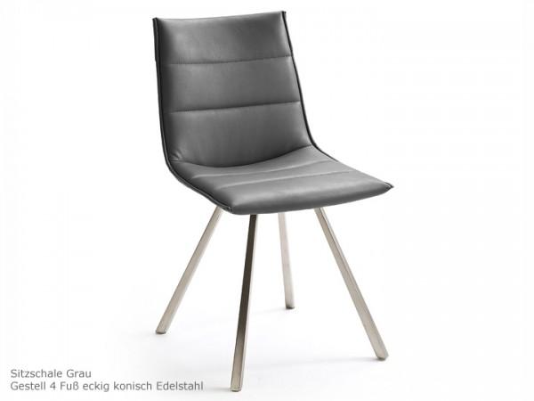 Esszimmerstuhl Alessia B 2er Set Kunstleder MCA Furniture