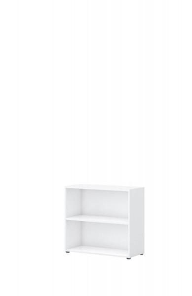 Aktenregal direct Weiß 2 Ordnerhöhen 80 cm breit