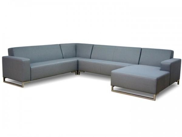 Lounge Lynn für den Garten 8-teilig Silvertex Livingruhm