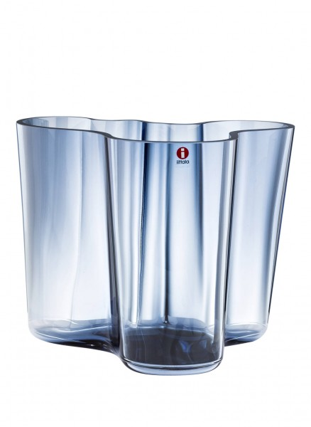 iittala Aalto Vase 160 mm regenblau