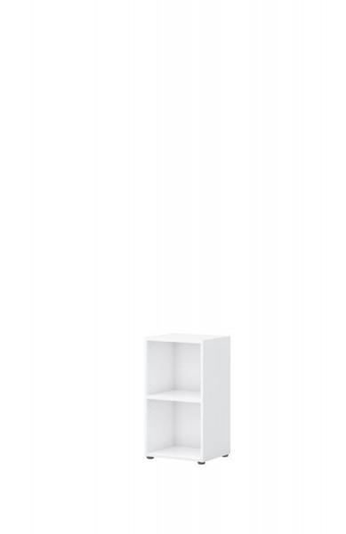 Aktenregal direct Weiß 2 Ordnerhöhen 40 cm breit