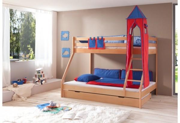 Relita Turm-Set groß blau/rot