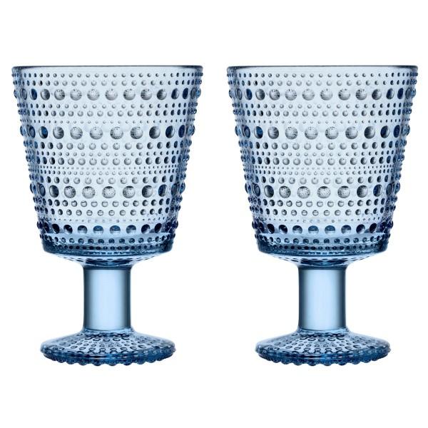 iittala Trinkglas Kastehelmi 0,26 l aqua blau (2er-Set)