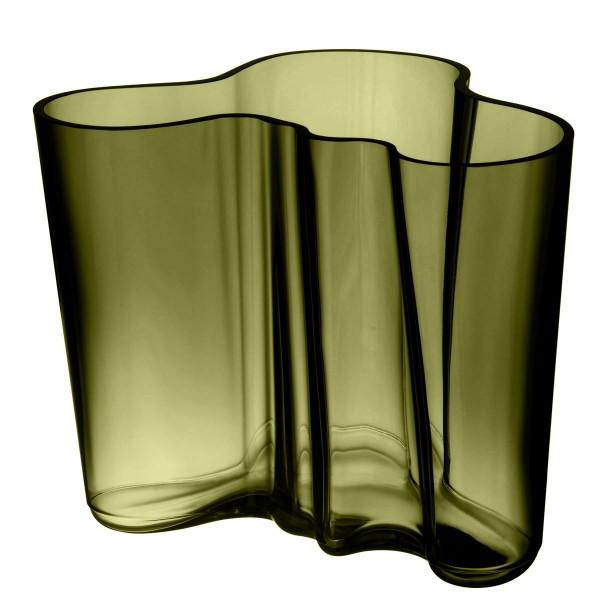 iittala Aalto Vase 160 mm moosgrün