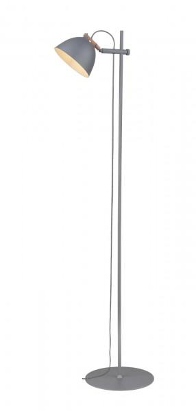 Halo Design Arhus Grau Wood Ø18 Stehlampe