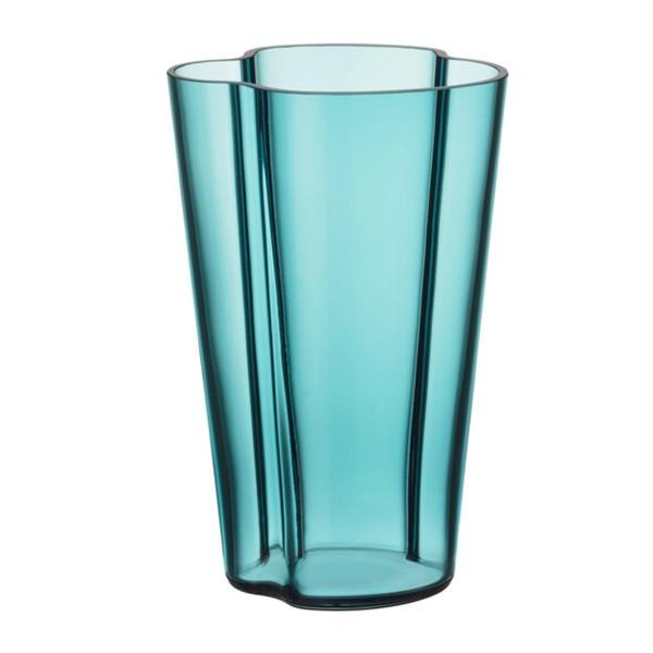 iittala Aalto Vase 22 cm seeblau