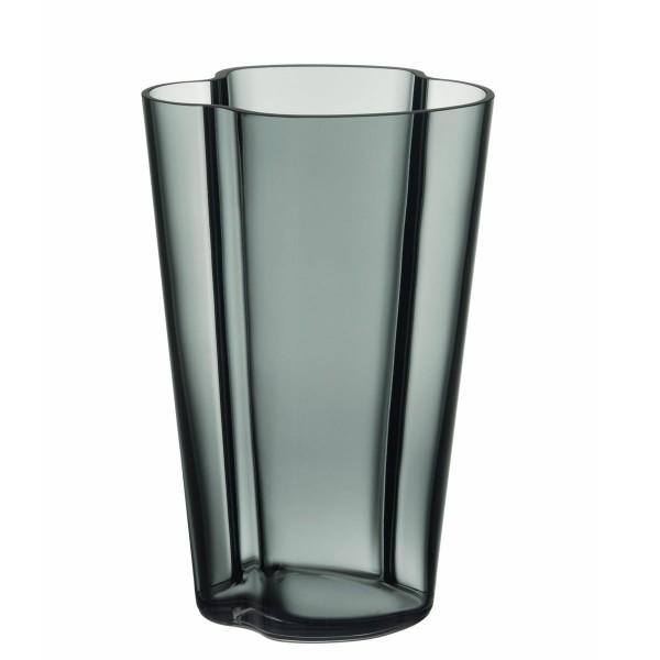 iittala Aalto Vase 22 cm dunkelgrau