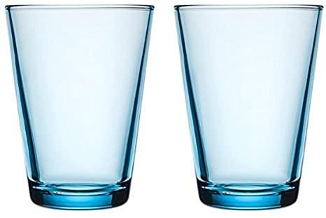iittala Kartio Becher 40cl 2 Stück blau