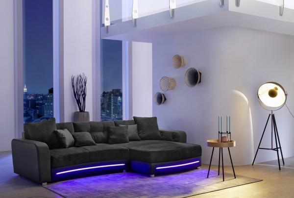 Jockenhöfer Sofa Laredo schwarz