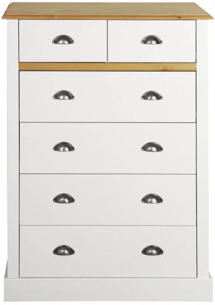 Steens Kommode Sandringham 013 in weiß