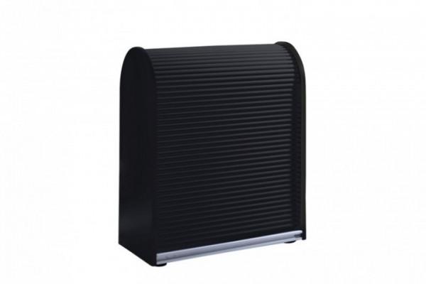 MS-Schuon Dancer Sideboard mit Rollladen abschließbar Schwarz 80/89cm Klenk Collection