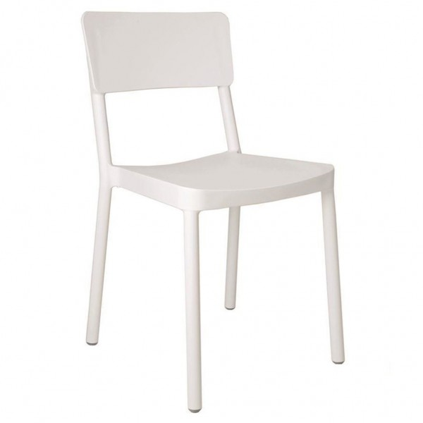 Resol Stuhl Lisboa weiß