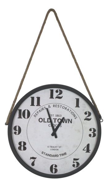 Wanduhr Old Town