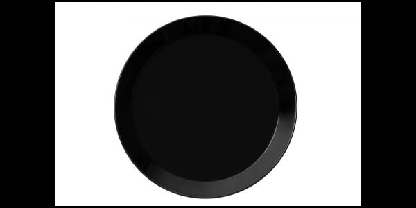 iittala Teller Teema schwarz 26 cm