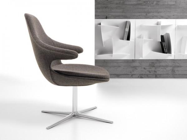 Infiniti Loop Lounge Sessel drehbar niedrig