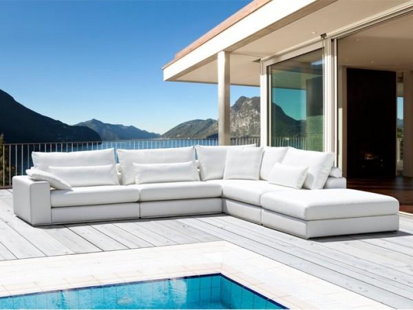 Lounge Mila für den Garten 26-teilig Silvertex Livingruhm