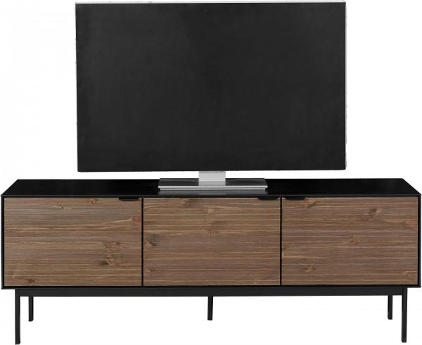 Steens TV-Lowboard Soma 721 Schwarz Espresso