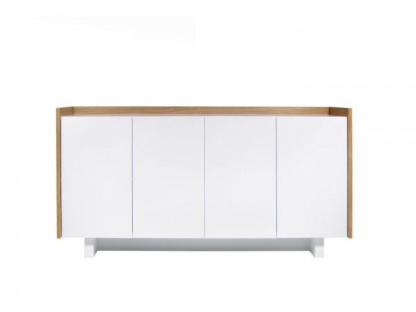 Temahome Skin Sideboard Weiß & Eiche 160cm