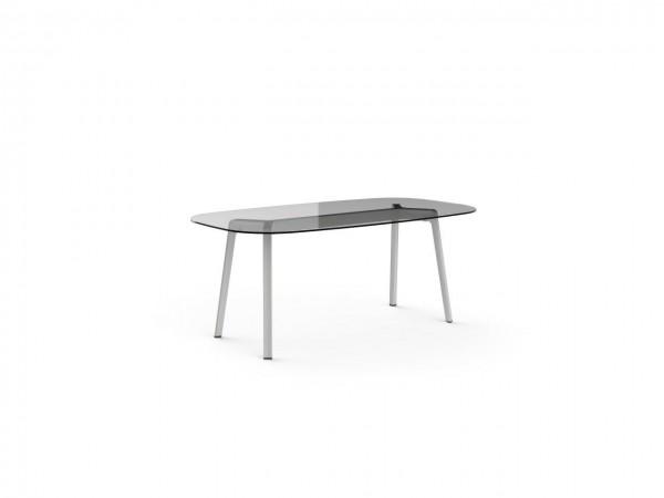 Resol Tisch Noren 160 x 100 cm Glasplatte