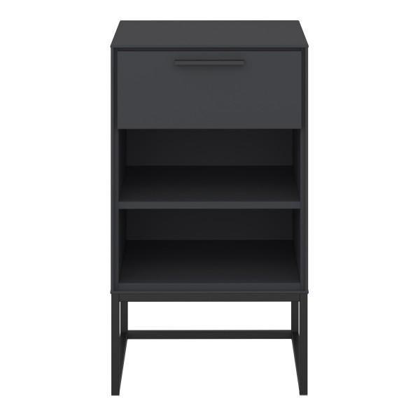 Steens Nachttisch Slimline 31 schwarz