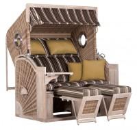 deVries PURE® Seaside XL PE white kubu Des. 440