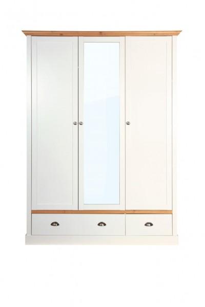 Steens Kleiderschrank Sandringham 107 weiß