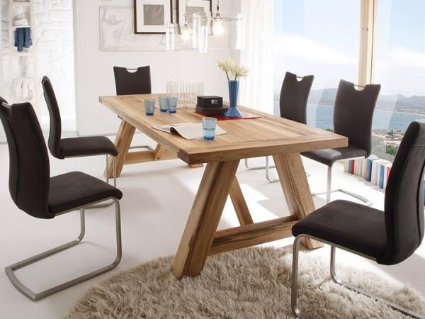 MCA furniture Bristol Esstisch Eiche massiv 260x100