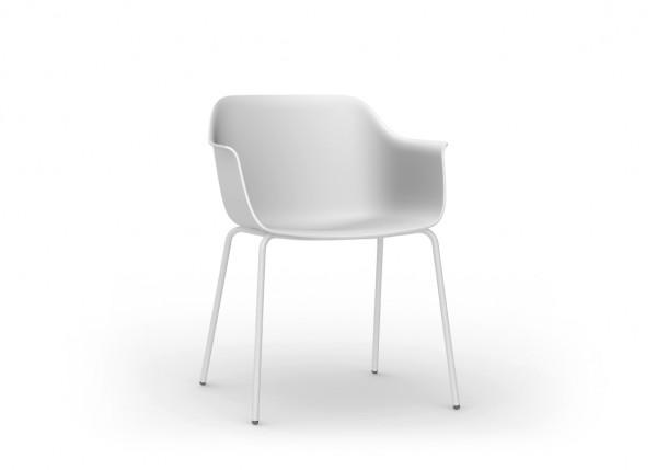 Resol Stuhl Shape 4 Beine weiß (2er-Set)