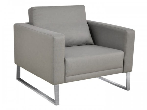 Lounge Gartensessel Bari Silvertex Livingruhm