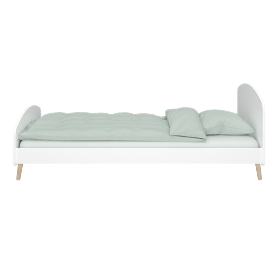 Steens Bett Gaia 647 weiß