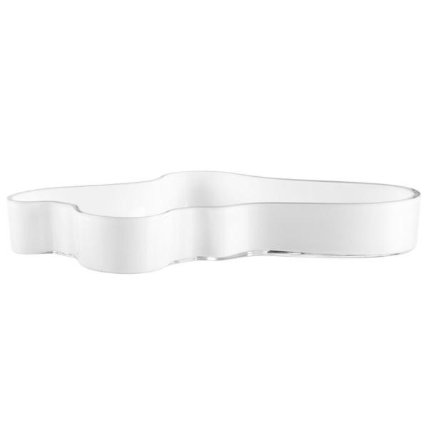 iittala Aalto Schale 50 x 380 mm weiß