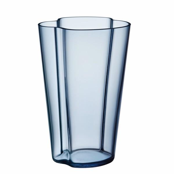 iittala Aalto Vase 22 cm regenblau