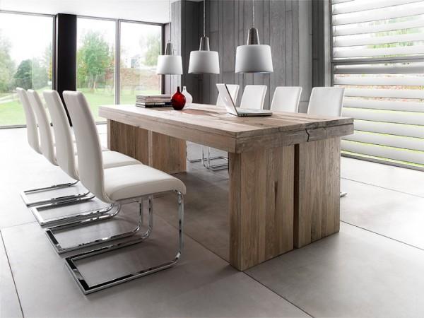 MCA furniture Dublin Esstisch Eiche massiv 220x100