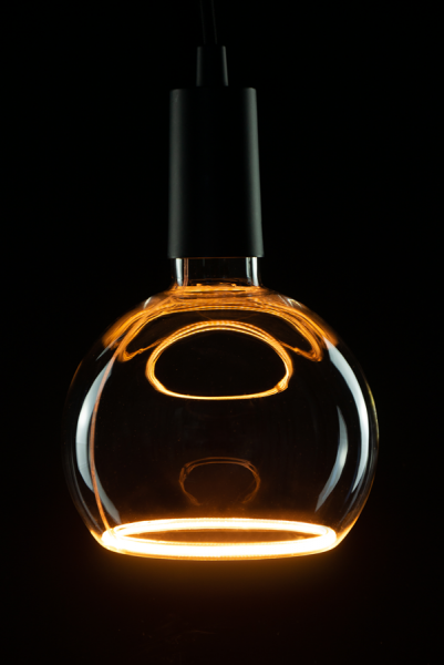 Heitronic LED Leuchtmittel Floating Globe R150 smokey grey E27