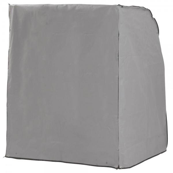 SunnySmart Schutzhülle grau für Strandkorb Rustikal 305Z